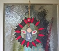 Upcycled Wreath Frame