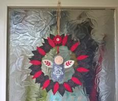 Upcycled Wreath Frame